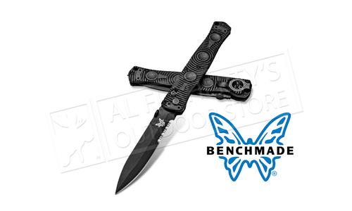 Benchmade SOCP Axis Glass Breaker Folding Knife #391SBK