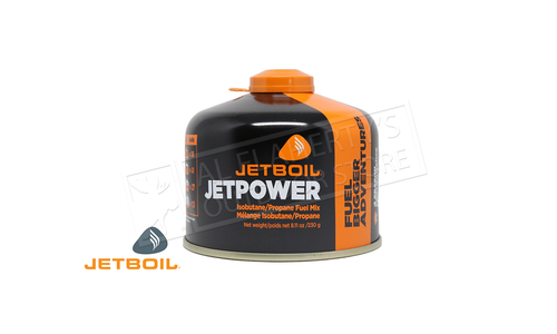 Jetboil JetPower Isobutane Propane Fuel Mix - 230 gram / 3.53 oz. #JETPWR230