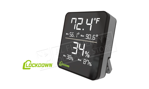 Lockdown Digital Hygrometer #1116774