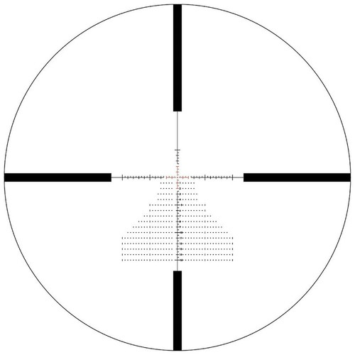 Bushnell Match Pro Scope 6-24x50mm Illuminated #MP6245BF6