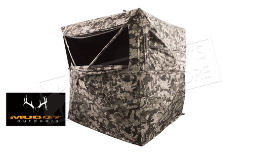 Muddy 3 Person Hub Ground Blind #HME-GRDBLND3-CVD