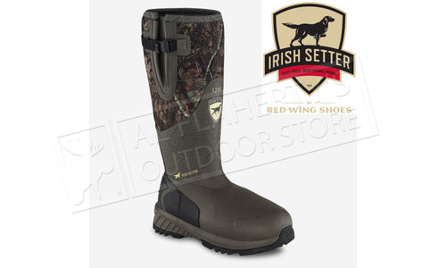 "Irish Setter Mudtrex 17"" Waterproof Rubber Full Fit Pull-On Hunting Boot #4854"