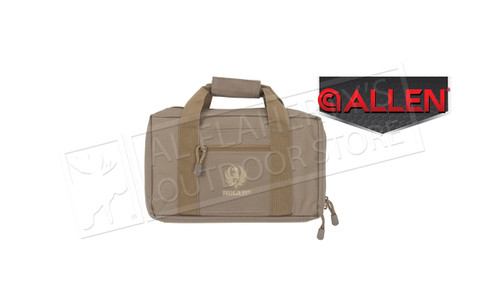 Allen Ruger Double Handgun Case Tan #27960