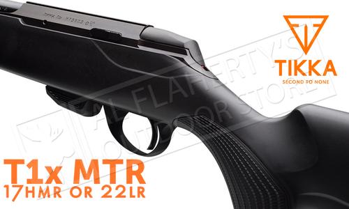 Tikka T1X Rifle , 17HMR or 22LR Left Hand