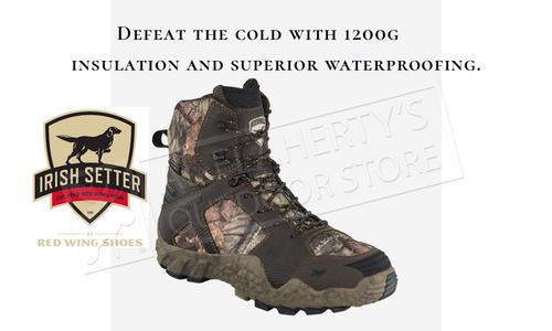 "Irish Setter Vaprtrek 8"" Boots, 1200g Insulation, Waterproof #3817"