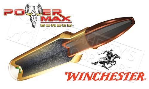 Winchester 308 WIN Power Max, Bonded HP 180 Grain Box of 20 #X3086BP