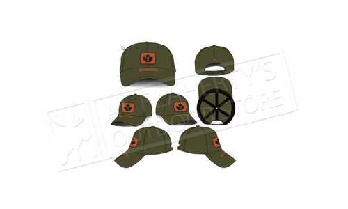 Browning Cap Maple Leaf Patch Olive #308847641