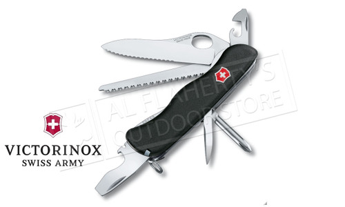 Victorinox Swiss Army One Hand Trekker Knife, Black #0.8463.MW3-033-X1