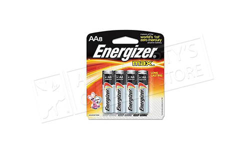 Energizer MAX AA Batteries - Pack of 8 #E91MP8