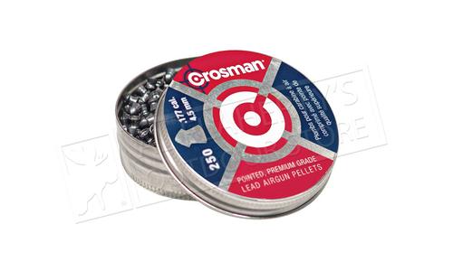 Crosman Pellets  Pointed .177 P 7.4 gr 250 count #P177