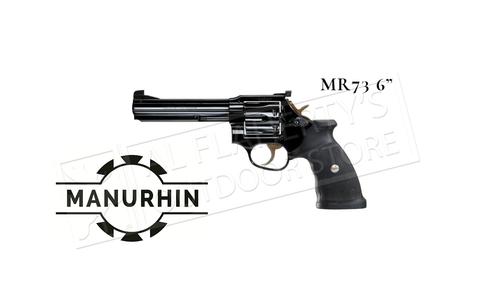 "Manurhin MR73 Sport 6"" Barrel .357/38 Special Blued Troush Double Action Revolver #1400025300DA"