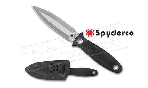 Spyderco Nightstick G-10 with Sheath, Plain Edge #FB47GP