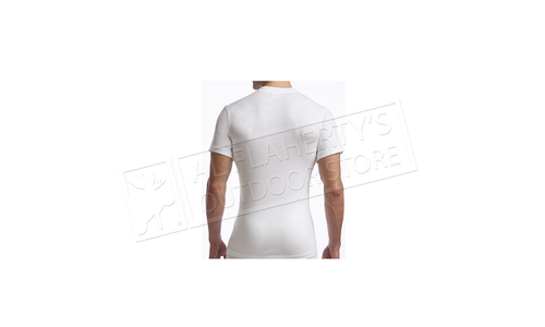 Stanfield's Men's Supreme Crew Neck T-Shirts 2-Pack, White M-XL #6742W