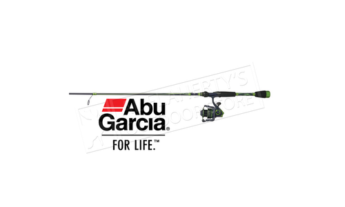 "Abu Garcia Virtual Spinning Combo, 6'6"" Medium Action 2-Piece #VRSP30/662M"