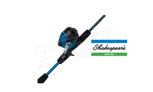 """Shakespeare Amphibian Spincast Youth Combo, 5'6"""" , Blue #AMPSCPBO"""