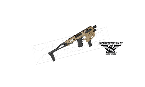 CAA MCK Micro Conversion Kit for Glock 17, 19, 19x, 22 Pistol, Tan/FDE #CAAMCKNT