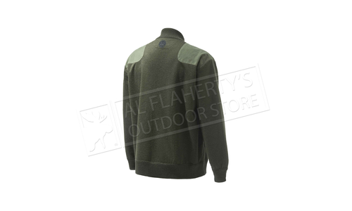 Beretta Honor Windstopper Full Zip Sweater, Green #PU501T16560715