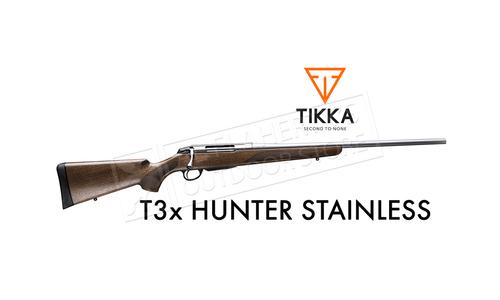 Tikka T3x Hunter SS Rifle, Walnut with Blued Barrel - Various Calibers