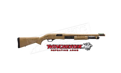 "Winchester SXP Defender Shotgun FDE 12 Gauge 18"" Barrel #512326395"