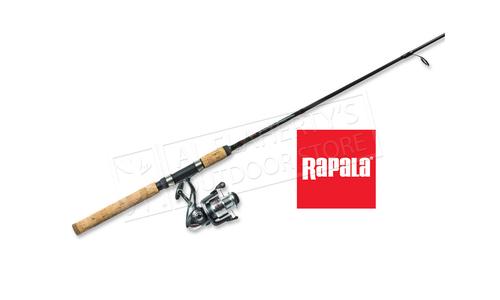 "Rapala Husky Rod & Reel Spinning Combo, 6'6"" Medium Action #RAPTX2SP66M2"