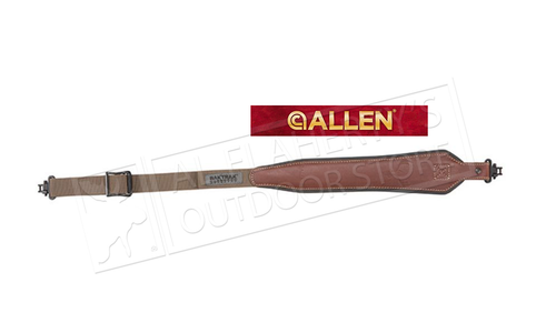 Allen Baktrak Leather Rifle Sling #8391