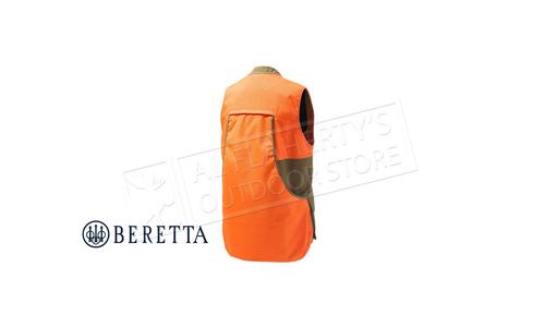 Beretta Retriever Field Vest Tobacco & Blaze Orange #GU563T16510850