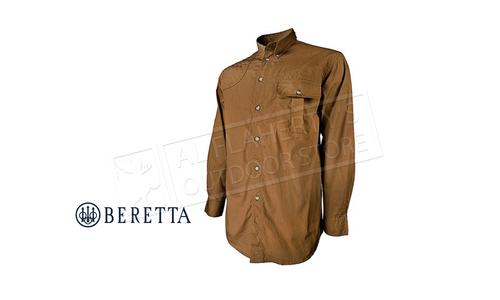 Beretta TM Shooting Shirt Long Sleeves Tan #LU152075610812