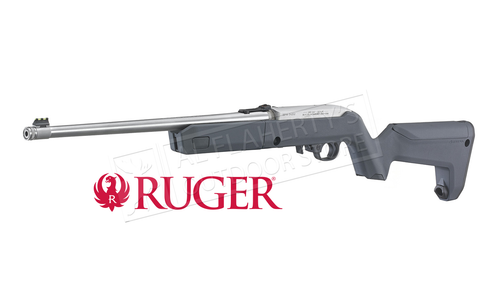 Ruger 10/22 TakeDown with Grey Magpul Backpacker Stock 22LR #31152