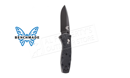 Benchmade Mini Barrage Assisted Axis Drop Point Black Blade #585BK