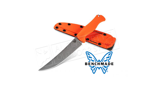 Benchmade 15500 Meat Crafter Fixed Blade CPM-154 Blade with Santoprene handle #15500