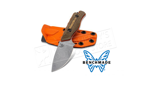 Benchmade 15017 Hidden Canyon Hunter Fixed S90V Blade with Richlite G10 Handles #15017-1