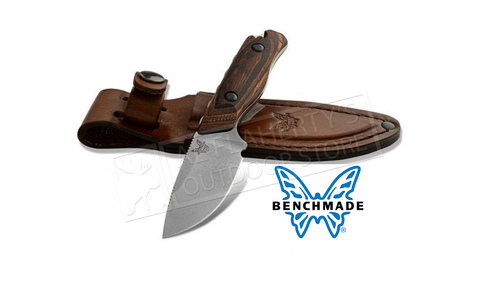 Benchmade 15017 Hidden Canyon Hunter Fixed Blade with Leather Sheath #15017