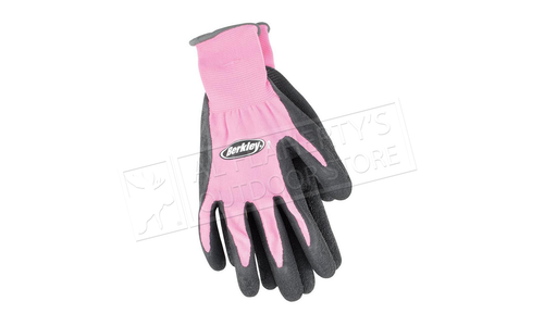 Berkley Coated Grip Gloves, Pink #BTLCFG