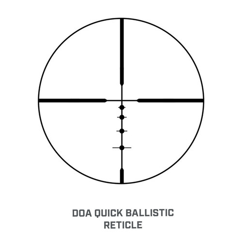 Bushnell Legend Riflescope 3-9x40 mm with DOA QBR Reticle #BL3940BS11