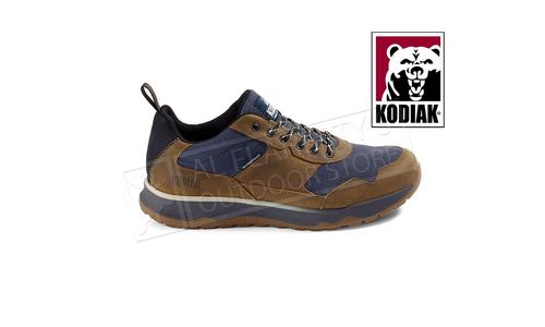 Kodiak Men's Skogan Low Waterproof Hiker, Tan/ Blue #KD0A4TFEB47