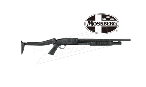 "Mossberg Maverick 88 Security Pump Shotgun with Top-Folding Stock 12 Gauge 18.5"" Barrel #31027"