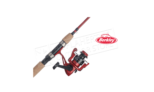 Berkley Cherrywood Spinning Combo 7 Medium, 2 Piece #CWD2S-702MCBO