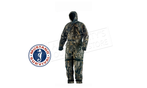 Mustang Integrity Floating Survival Suit, Camo #MS195 XXL