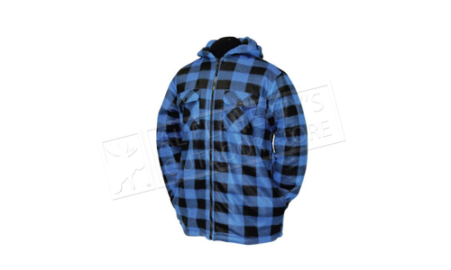 Misty Mountain Sherpa Fleece Jacket with Insulated Hood & Zipper #5694