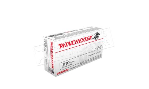 Winchester 380 Auto, 95 Grain Box of 50 #Q4206