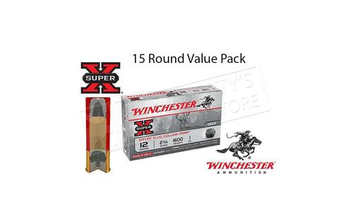 Winchester Super X Rifled Slugs 20 Gauge Box of 15 #X20RSM5 Value Pack