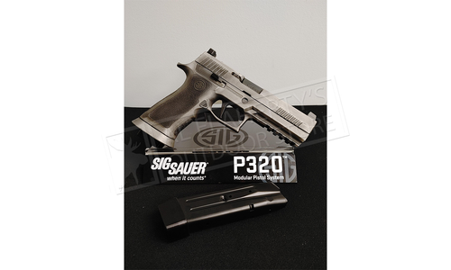 SIG Sauer Handgun P320 9mm BXR3 LDC Pro, Battle Worn Custom Shop Finish #SIGLL320F-9-BXR3-LDC-PRO-SP