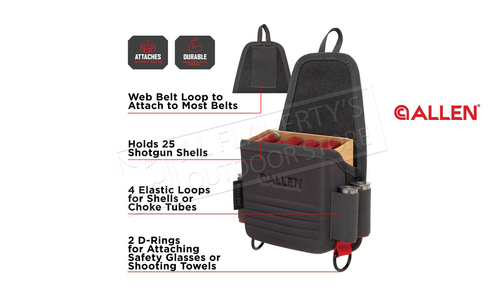 Allen Competitor Single Box Molded Shell Carrier, Gray #8319