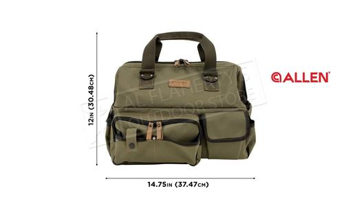 Allen Triumph Ripstop Range Bag & Handgun Mat, Olive #8329