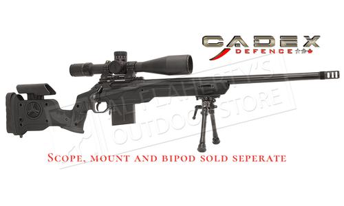 """Cadex Defence CDX-R7 Sheepdog Rifle 6.5 PRC 24"""" Barrel #CDXR7-SDOG-6.5PRC -24-I-FT Black"""