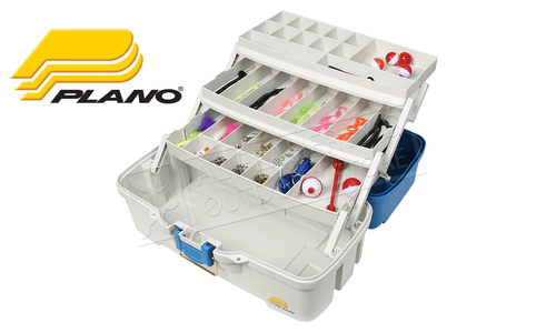 Plano Let's Fish! Three-Tray Tackle Box with 180 Pieces Kit #620310