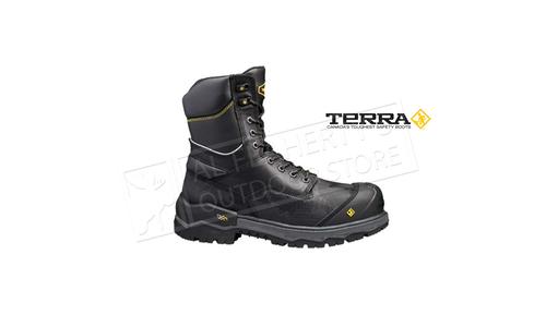 "Terra 8"" Gantry Work Boot with Waterproof Waterguard Membrane #TR04NRQBLK"