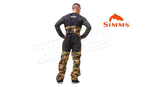 Simms Men's CZ Bib Pant Woodland Camo #13303-569
