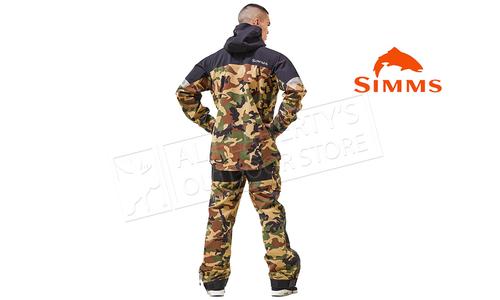 Simms Men's CX Jacket Woodland Camo #13302-569
