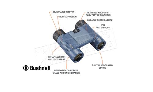 Bushnell H20 10x25mm Waterproof Binoculars #130105R